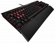 Corsair Gaming K70 Black with CHERRY RED Keyboard,...
