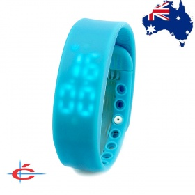 Multifunctional USB Smart Sports Bracelet with LED Display, Support 3D Pedometer / Sleep Monitor / Calorie Monitor (Blue)