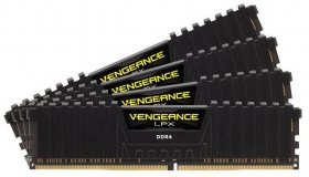 16GB Corsair (4x4GB) DDR4 2666MHz Vengeance LPX DI...