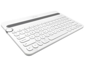K480 Bluetooth Multi-Device Keyboard-Wht