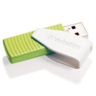 32GB Verbatim Swivel USB2 Green