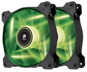Corsair Air Series SP120 LED Green High Static Pre...