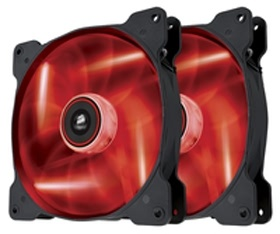 Corsair Air Series SP140 LED Red High Static Press...