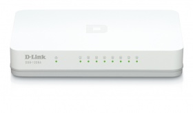 D-LINK 1008A, 8-Port Gigabit Desktop Switch