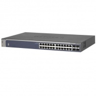 NETGEAR ProSAFE 24-port Gigabit Smart Switch with ...