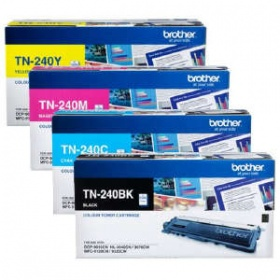 Brother TN-240 CLR LASER, 4 CLR PK OF LASER TN -BL...