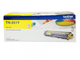 BROTHER TN-251 YELLOW TONER FOR HL-3150CDN, 3170CD...