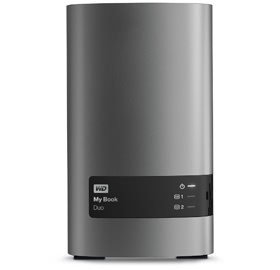 6TB WD My Book Duo External storage/USB 3.0 up to ...