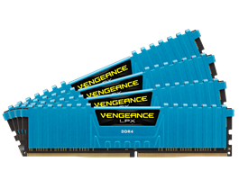 32GB Corsair DDR4, 2666MHz 4 x 288 DIMM, Unbuffere...