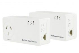 NetComm NP511 Powerline 500mbps twin