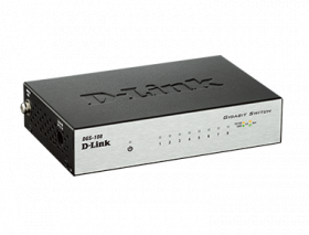 D-Link DGS-108 8-Port Gigabit Desktop Switch (Meta...