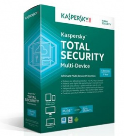 Kaspersky TOTAL SECURITY 3 Device 1 Year OEM e Licence only NO DISK