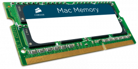 8GB Corsair Mac Memory, 1600MHz DDR3 memory module for Apple iMac, MacBook, MacBook Pro, IMac and Mac mini.