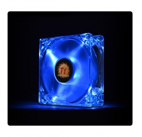 80mm ThermalTake Pure 8 Blue LED 1400RPM Fan