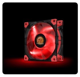 80mm ThermalTake Luna 8 Red LED 1400RPM Fan
