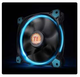 120mm ThermalTake Riing 12 Blue LED 1500RPM Fan