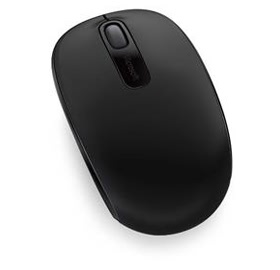 Microsoft Wireless Mobile Mouse 1850 Coal Black
