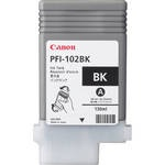 Canon PFI-102BK BLACK INK TANK 130ML FOR IMAGEPROG...