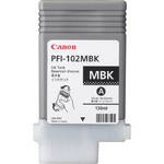 Canon PFI-102MBK MATTE BLACK INK TANK 130ML FOR IP...