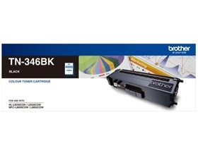 Brother TN-346 HIGH YIELD BLACK TONER TO SUIT HL-L8250CDN/8350CDW MFC-L8600CDW/L8850CDW - 4000Pages