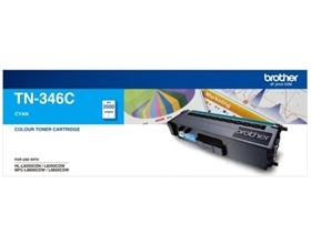 Brother TN-346 HIGH YIELD CYAN TONER TO SUIT HL-L8...