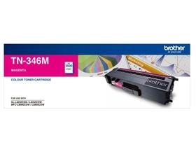 Brother TN-346 HIGH YIELD MAGENTA TONER TO SUIT HL...