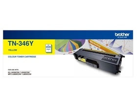 Brother TN-346 HIGH YIELD YELLOW TONER TO SUIT HL-...