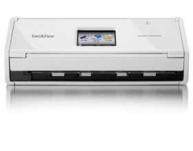 Brother ADS-1600W, COMPACT DOCUMENT SCANNER with T...