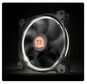 140mm ThermalTake Riing 14 White LED 1400RPM Fan