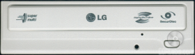 LG SATA CD DVD Writer Beige panel for Internal Dri...