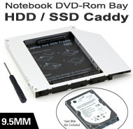 "2.5"" SATA HDD/SSD Caddy / Cradle / Tray for R..."
