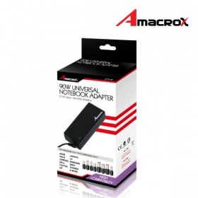 Amacrox Universal Notebook Power Adapter 90W 19V, ...