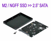 "M.2 / NGFF \'B\' Key SSD to 2.5"" SATA Hard Disk..."