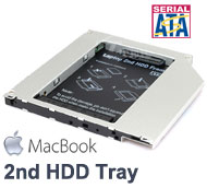 "2.5"" SATA Hard Drive Caddy Tray for MacBook a..."