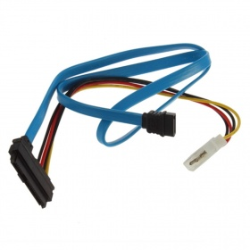 SAS 29 PIN TO SATA AND MOLEX CABLE
