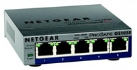 NETGEAR GS105E ProSafe Plus 5-port Gigabit Etherne...