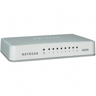 GS208 8-Port Gigabit Unmanaged Switch