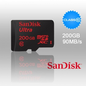 200GB SANDISK ULTRA PREMIUM  MICROSDXC UHS-I  UP T...