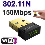 EDUP mini WiFi N 150Mbps USB Dongle, [EP-N8553], R...