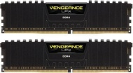 16GB Corsair DDR4, 2400MHz 2 x 288 DIMM, Unbuffered, 14-16-16-31, Vengeance LPX Black Heat spreader, 1.20V