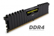 8GB Corsair Vengeance LPX (1x8GB) DDR4 DRAM 2400MHz C14 Memory Kit - Black (CMK8GX4M1A2400C14)