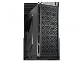 "Cougar Evolution Full Tower, Micro ATX/ATX (Black), 0.7mm Steel, 6x 5.25"", 4x 3.25"", 7x PCI, 2x USB3.0, 2x USB2.0, Fan speed controller."