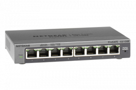 NETGEAR GS108E ProSafe Plus 8-port Gigabit Switch