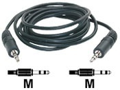 3.5mm Stereo Cable Male - Male 0.5m