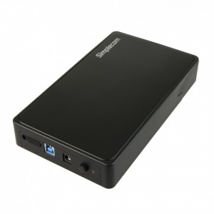 "Simplecom SE325 Tool Free 3.5"""" SATA HDD to USB 3.0 Hard Drive Enclosure """