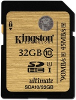 32GB Kingston SDHC Class10 UHS-I 80MB/s Read Flash...