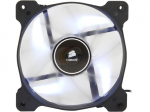 120mm Corsair LED Fan AF120-LED, White, Single Pac...