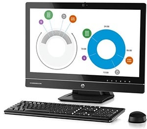 "HP 800 EliteOne G2, i5-6500 3.2Ghz, 23""""..."