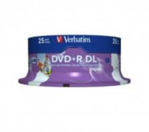 Verbatim DVD+R Double Layer 25pcs Spindle