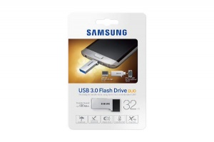 32GB Samsung Duo Type USB Drive, Metallic
